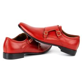 Lukas Leather formal shoes Monki 287LU red 10
