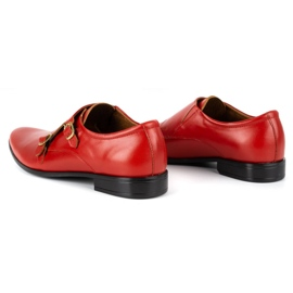 Lukas Leather formal shoes Monki 287LU red 11