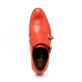 Lukas Leather formal shoes Monki 287LU red 12