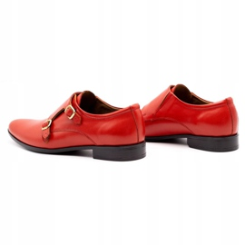 Lukas Leather formal shoes Monki 287LU red 1