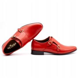 Lukas Leather formal shoes Monki 287LU red 3