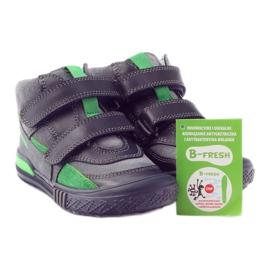 Boots gray-green velcro Bartek 91756 black multicolored grey 4