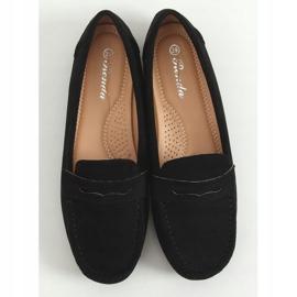 Black Women's loafers S-980 Black 3
