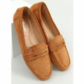 Women's loafers camel S-980 Camel brown 3