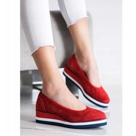 Filippo Wedge Heels red 3