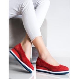 Filippo Wedge Heels red 2