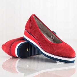 Filippo Wedge Heels red 1