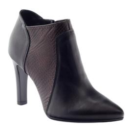 Espinto 107/30 women's boots black multicolored 1
