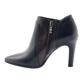 Espinto 107/30 women's boots black multicolored 2