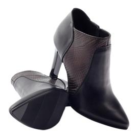 Espinto 107/30 women's boots black multicolored 3