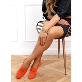 Orange classic women's moccasins 3394 Orange 2