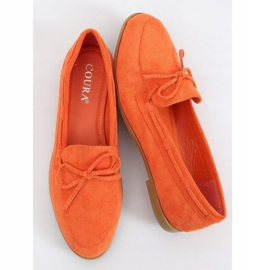 Orange classic women's moccasins 3394 Orange 1