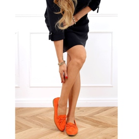 Orange classic women's moccasins 3394 Orange 3