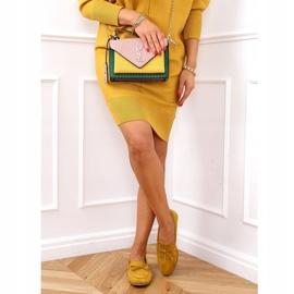 Classic women's moccasins mustard 3394 Yellow 3