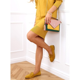 Classic women's moccasins mustard 3394 Yellow 2