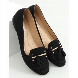 Black women's loafers 99-08A Black 3