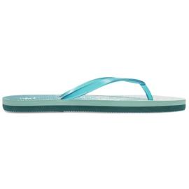 Flip-flops 4F W H4L21-KLD003 48S blue green 1