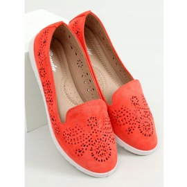 Coral openwork lords DY-09 Orange 3