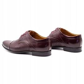 Olivier Men's formal shoes 710 claret red 7