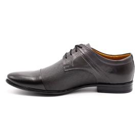 Olivier Men's formal shoes 710 gray grey 1