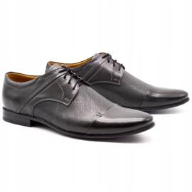 Olivier Men's formal shoes 710 gray grey 2