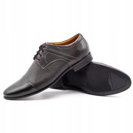 Olivier Men's formal shoes 710 gray grey 3