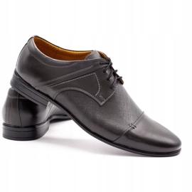 Olivier Men's formal shoes 710 gray grey 4