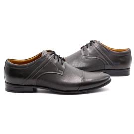 Olivier Men's formal shoes 710 gray grey 5