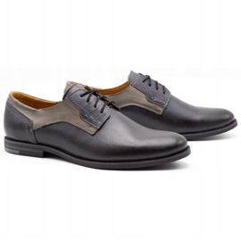 Olivier Formal shoes 1033 gray grey 2