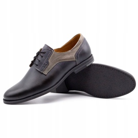 Olivier Formal shoes 1033 gray grey 3