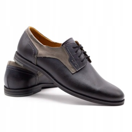 Olivier Formal shoes 1033 gray grey 4