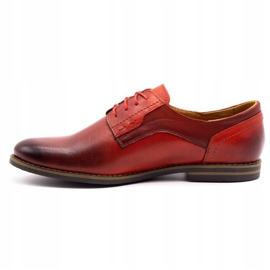 Olivier Formal shoes 1033 red 1