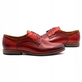 Olivier Formal shoes 1033 red 5