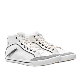 Men's white ankle-high sneakers from Hugo 1