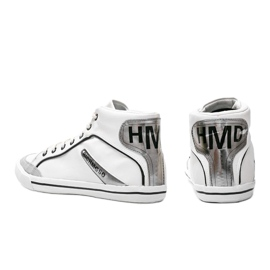 Men's white ankle-high sneakers from Hugo 2