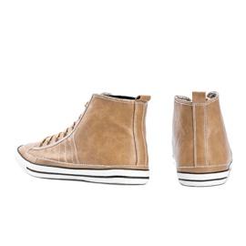 Men's beige sneakers Colten 2