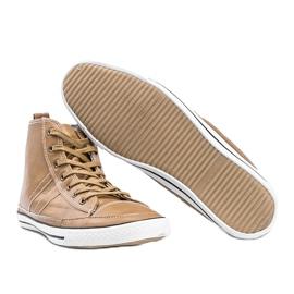 Men's beige sneakers Colten 3