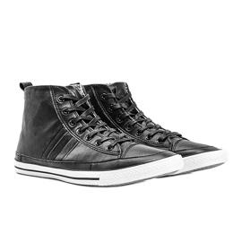Men's black sneakers Colten 1