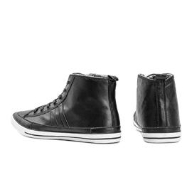 Men's black sneakers Colten 2