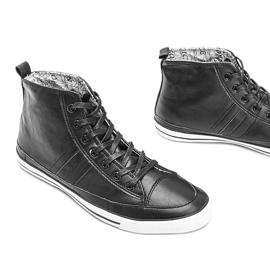 Men's black sneakers Colten 3