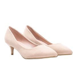 Beige pumps on the Like you low heel 1