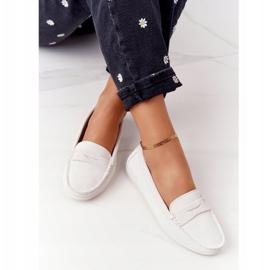 Women's Suede Loafers Big Star HH274665 Ecru 1
