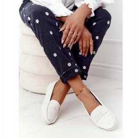 Women's Suede Loafers Big Star HH274665 Ecru 2