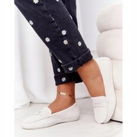 Women's Suede Loafers Big Star HH274665 Ecru 4