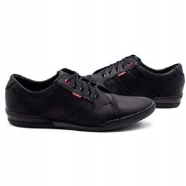 Polbut Men's casual shoes R3 Perforation Black 1