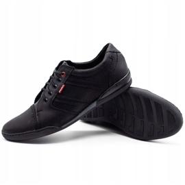 Polbut Men's casual shoes R3 Perforation Black 4
