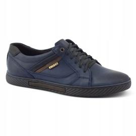 Polbut Men's shoes J47 navy blue 3