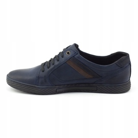 Polbut Men's shoes J47 navy blue 4