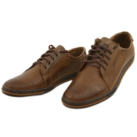 Polbut Men's shoes 320 brown 7