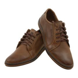 Polbut Men's shoes 320 brown 8